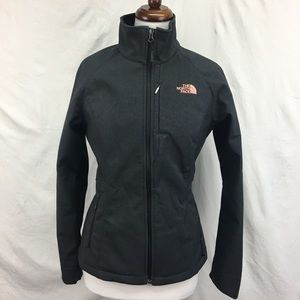 The North Face Womens Logo Charcoal Zip Up Jacket